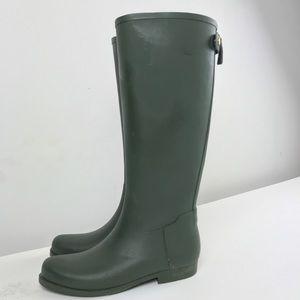 🎉SOLD🎉JCrew Size 9 Waterproof Pull On Rain Boots